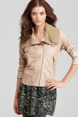 Joie Staci Leather Jacket - Lyst