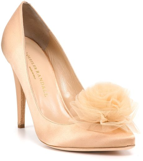 Loeffler Randall Zuri Evening Pumps in Pink (blush) - Lyst