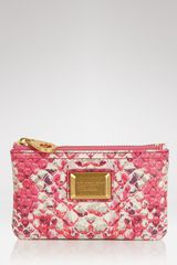 Marc By Marc Jacobs Supersonic Snake Key Pouch - Lyst