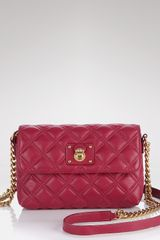 Marc Jacobs Quilted Single Shoulder Bag - Lyst