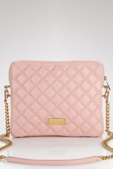 Marc Jacobs Quilted Ipad Case in Pink (coral) - Lyst