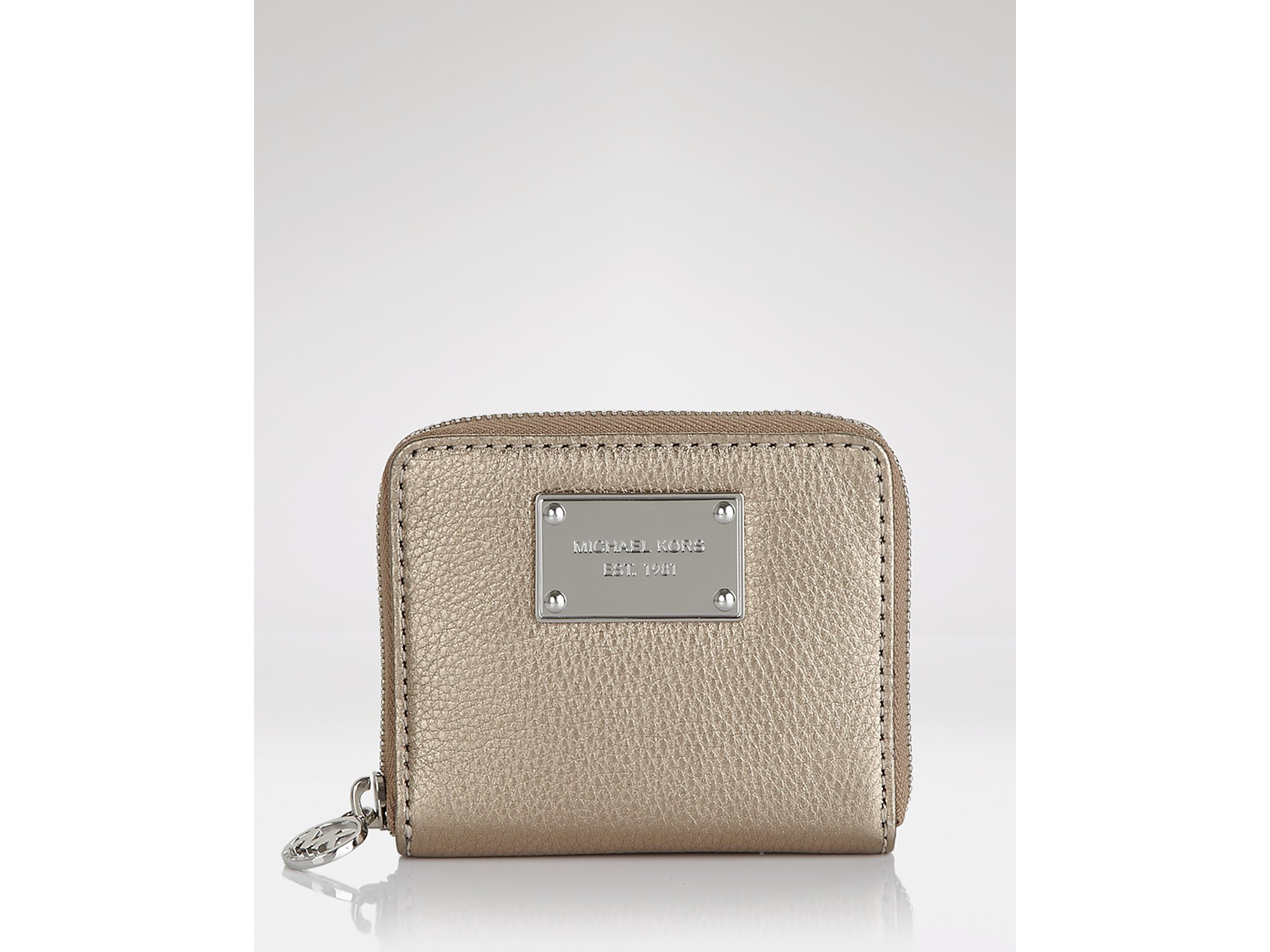1bc63d98a5f0 Michael Kors Jet Set Zip Around Wallet Small | Stanford Center for ...