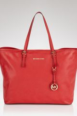 Michael Kors Michael Jet Set Travel Tote - Lyst