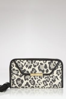 See By Chloé See By Chloé Cherry Leopard Zip Wallet - Lyst