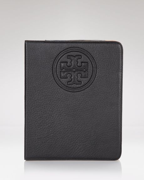 Tory Burch Stacked Logo Etablet Case in Gold - Lyst