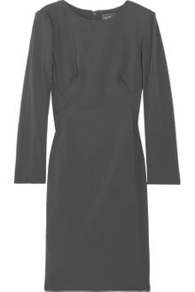 Zac Posen Stretchcrepe Dress - Lyst