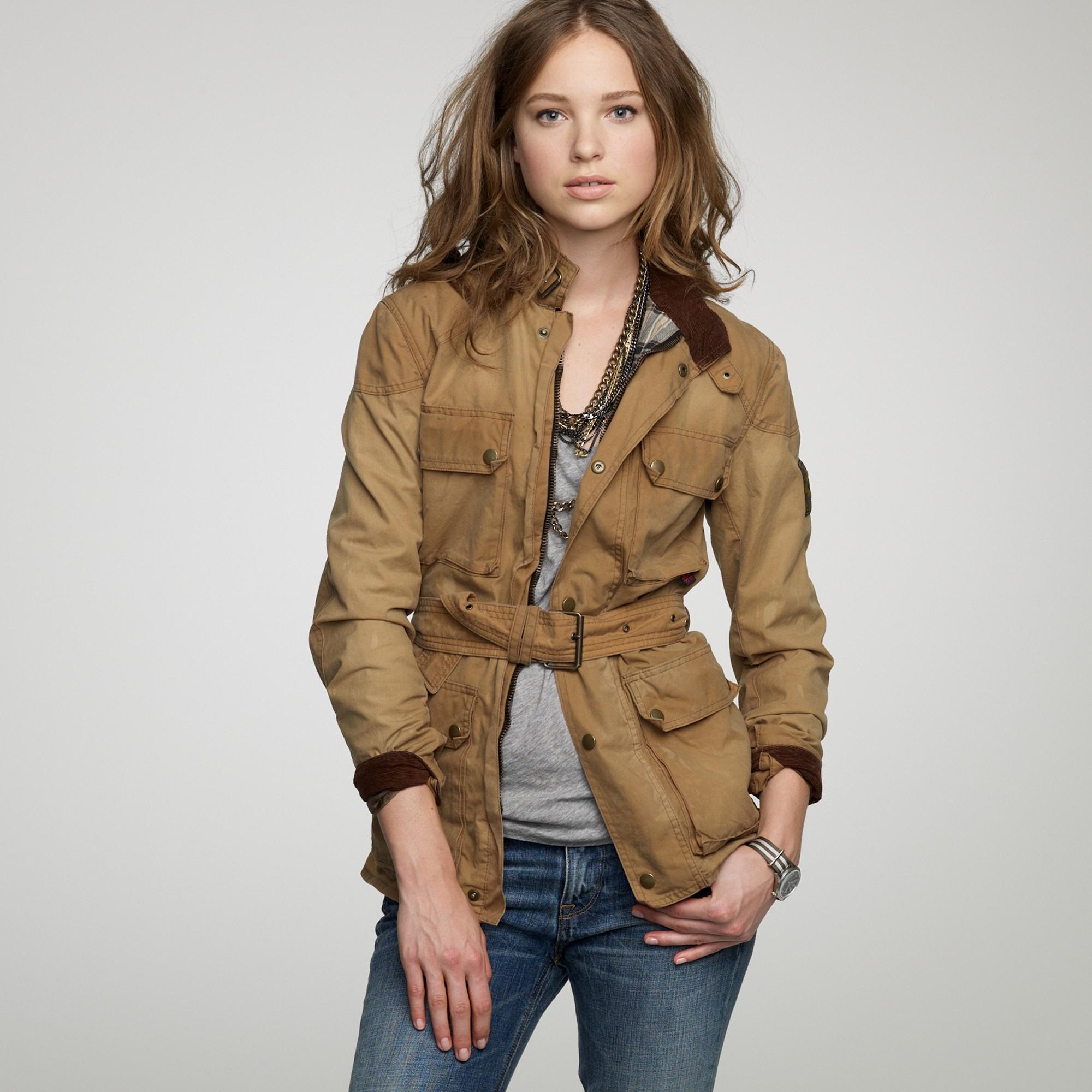 Belstaff Waxed Jacket Womens