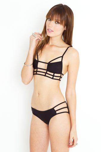 Nasty Gal Eagles Shadow Bikini - Lyst