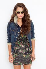 Nasty Gal Dakota Denim Jacket - Lyst