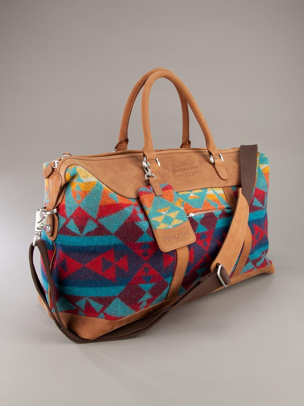 eba2fb387217 Pendleton Weekender Bag in Brown for Men - Lyst
