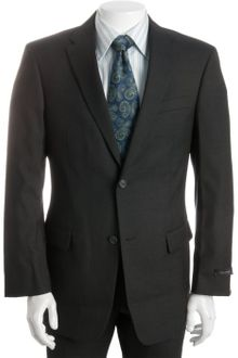 Tommy Hilfiger Navy Pin Dot Wool Blend Nathan 2-button Trim Fit Suit with Flat Front Pants - Lyst