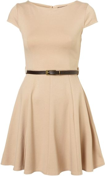 Topshop Sleeveless Skater Dress By Rare** - Lyst