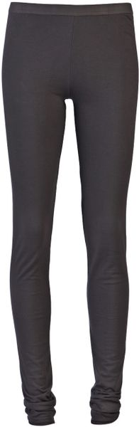 Drkshdw By Rick Owens Jersey Legging in Blue - Lyst