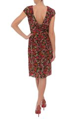 Erdem Miren Printed Silk Dress in Floral - Lyst