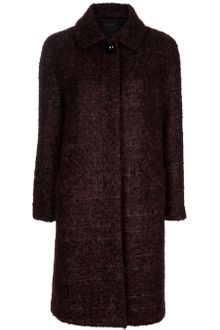 Marc Jacobs Mohair Blend Coat - Lyst