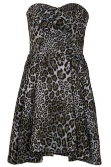 Mw Matthew Williamson Strapless Dress - Lyst