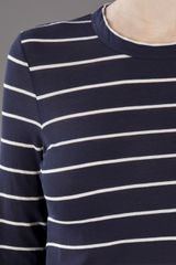 A.l.c. Travis Stripe Tshirt in Blue - Lyst