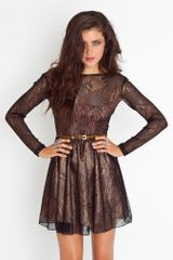 Nasty Gal Cilia Lace Dress - Lyst
