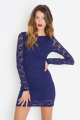 Nasty Gal Cutout Lace Dress - Lyst