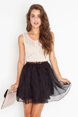 Nasty Gal Nina Silk Dress - Lyst