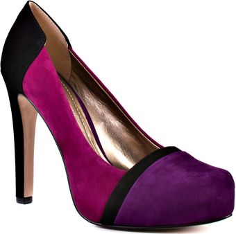 BCBGMAXAZRIA Perries - Grape Black Fuschia - Lyst