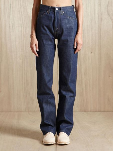 Levi's Levis Vintage Clothing Womens 701 Jeans in Blue (indigo)