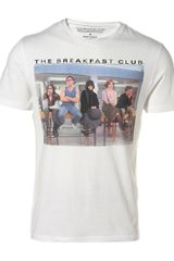 Topman White Breakfast Club T-shirt