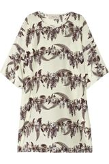 Emma Cook Printed Silk Tunic Dress - Lyst