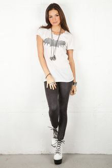 Zoe Karssen Bat Loose Fit Tee In 2 Colors - Lyst