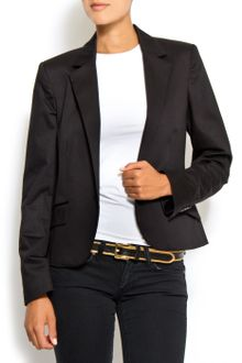 Mango Suit Jacket - Lyst