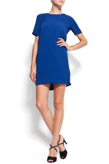 Mango Straight-cut Dress - Lyst