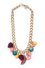 Mango Chain Necklace - Lyst