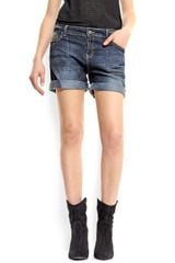 Mango Five-Pocket Bermuda Shorts - Lyst