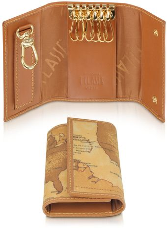 Alviero Martini 1a Classe Geo Print Key Holder - Lyst
