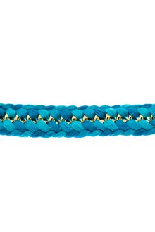 Aurelie Bidermann Double Braided Do Brasil Bracelet - Lyst