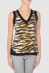 D&G Sleeveless T-shirt - Lyst