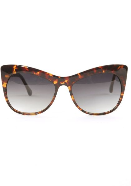Elizabeth And James Lafayette Sunglasses  Dark Tortoise in Brown - Lyst