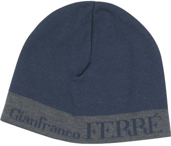 Gianfranco Ferré Color Block Skull Cap - Lyst