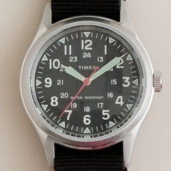 J.Crew Timex® Military Watch - Lyst
