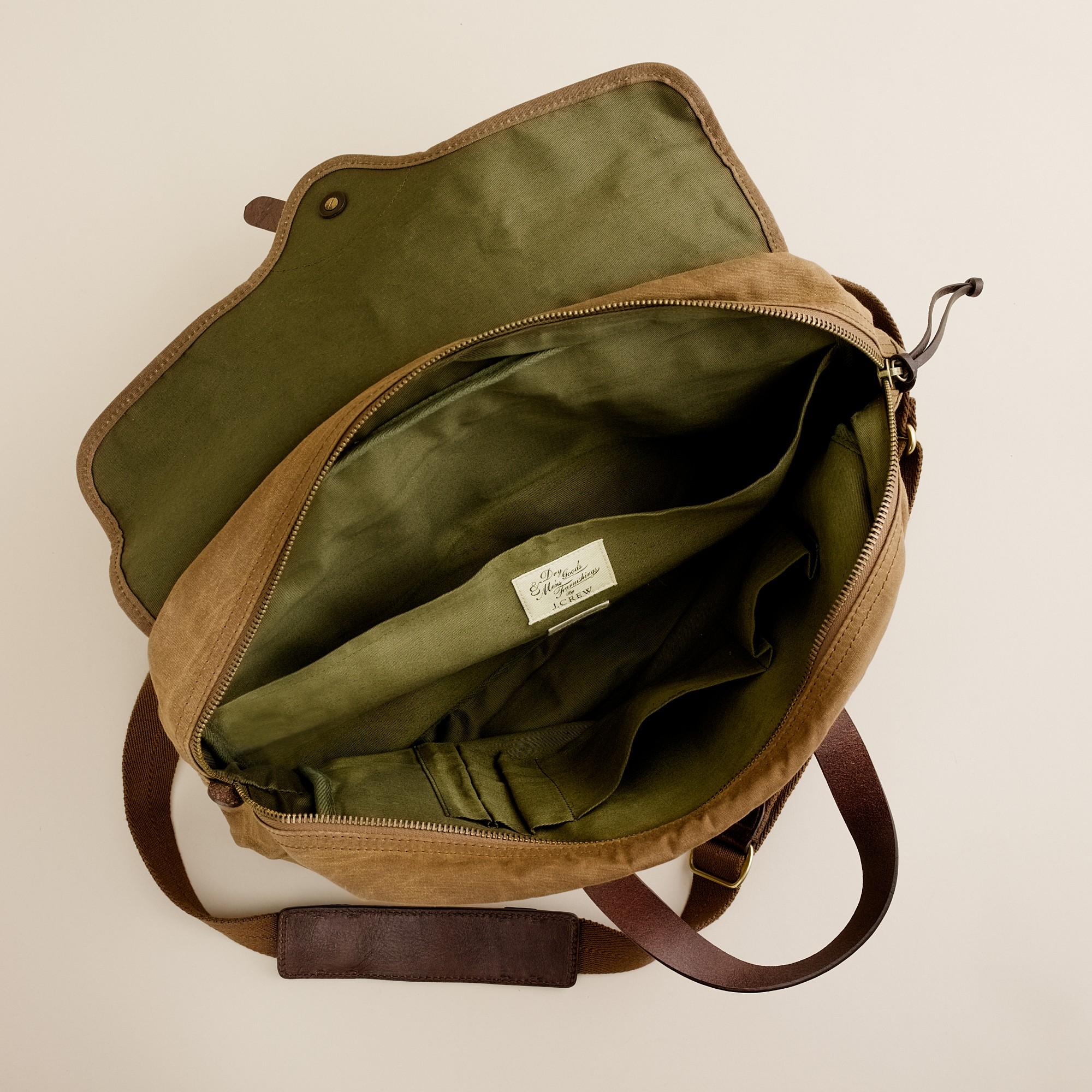43e8538c14 Lyst - J.Crew Abingdon Laptop Bag in Natural for Men