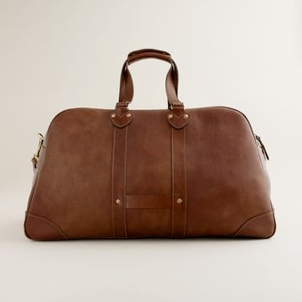 J.Crew Montague Leather Weekender - Lyst
