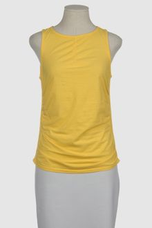 Miu Miu Sleeveless T-Shirt - Lyst