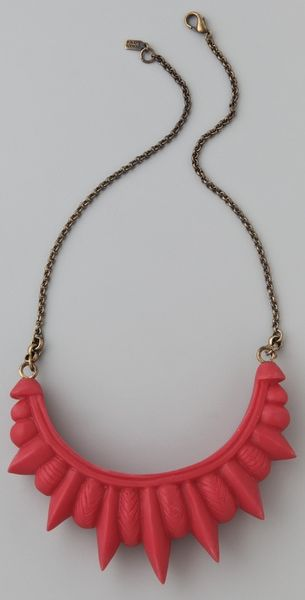 Pamela Love Tribal Spike Necklace - Lyst