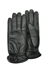 Pineider Mens Black Deerskin Leather Gloves W/ Cashmere Lining - Lyst