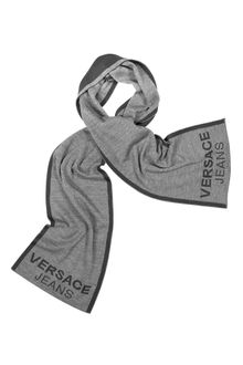 Versace Signature Color Block Scarf - Lyst