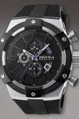 Brera Supersportivo Watch, Black - Lyst