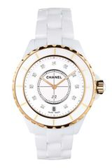 Chanel J12 33mm Pink Gold Watch