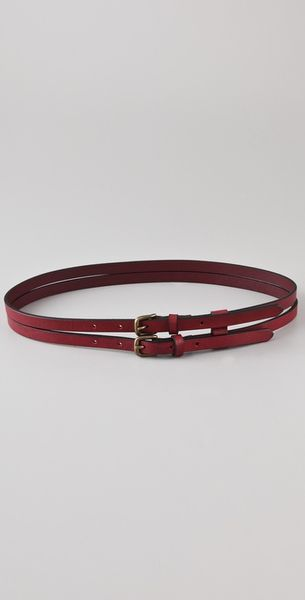 Club Monaco Mary Kate Belt in Brown - Lyst