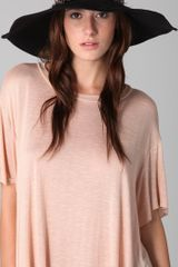 Eugenia Kim Honey Wide Brim Hat with Feather Band - Lyst