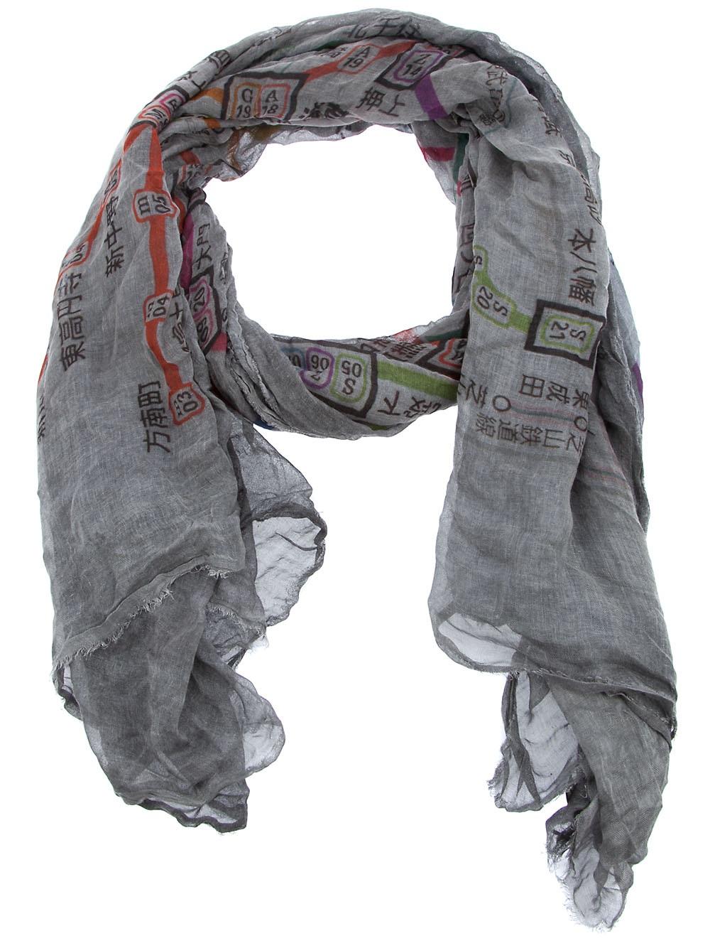 frou frou scarf Faliero Sarti f9vftLm4
